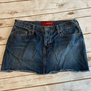 Hollister Denim mini skirt